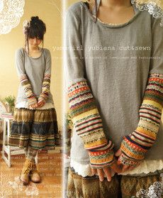 knitted skirt...love it!