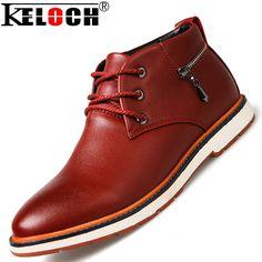 New 2015 Autumn Men Ankle Boots England Style Fashion Pu Leather Ankle Boots Men Bottes High Quality alishoppbrasil