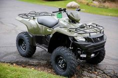 New 2016 Suzuki KingQuad 750AXi Power Steering ATVs For Sale in Wisconsin. 2016 Suzuki KingQuad 750AXi Power Steering, 2016 Suzuki KingQuad 750AXi Power Steering Trusted. Rugged. Reliable. Three decades of ATV manufacturing experience has led to the KingQuad 750 AXi Power Steering, Suzuki s most powerful and technologically advanced ATV. Abundant torque developed by the 722cc fuel-injected engine gives the KingQuad the get up and go that s a must-have for Utility Sport ATVs. The advanced…