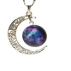 Moon and sun celestial necklace Moon and sun celestial necklace 18 inch chain Jewelry Necklaces