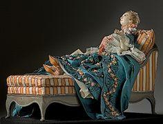 Marquise de Pompadour figurine after Boucher
