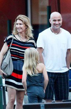 Andre Agassi y Steffi Graf