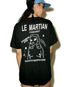DollsKill  lookbook  photoshoot  model  RIPNDIP Le  martian  tee  shirt   black… d521fa1a05f5