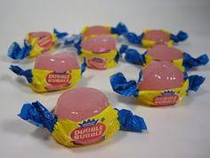 Bubble gum shots