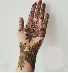 Bridal mehndi designs images for hands