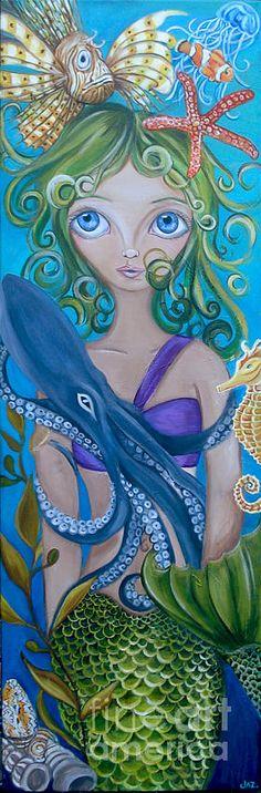Underwater Mermaid by Jaz Higgins