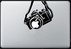 Canon Camera Macbook Airpro 11 13 15 17 Stickersdecal  * You can find more details by visiting the image link.Note:It is affiliate link to Amazon. #bored Macbook Pro Stickers, Mac Stickers, Macbook Pro 15, Apple Macbook Pro, Apple Stickers, Mac Laptop, Laptop Decal, Camera Nikon, Laptop Accessories