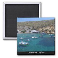 Cheronisos – Sifnos Refrigerator Magnet