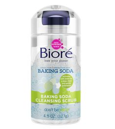 Bioré Baking Soda Scrub. Do yourself a favor and go buy this. It is awesome.