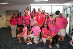 TAMUCC Athletic Trainers supporting Breast Cancer Awareness!