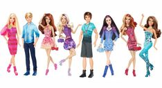2 Generation                                      Rainbow Wave 1 was up next! These 2012 dolls were aptly named Barbie, Ken, Teresa, Barbie II, Ryan, Raquelle, Evil Summer and Nikki. Is it just me, or does Nikki look lighter than before? Maybe it's just me.