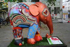 "Elephant""Gloria"" by raggi di sole"