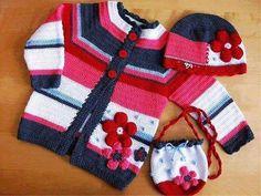 Crochet desde El Tabo.: Ropa para niños, chalecos,chaquetones ...
