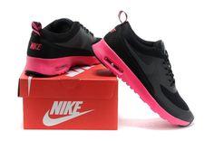 new products 42f0e 1e8f4 Heren Nike Air Max Thea Print Zwart Roze Nieuwe Collectie Nike Air Max Thea  Schwarz