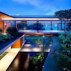 Casa Abu Samra / Symbiosis Designs,© Arnaldo Genitrini | Casas  Contemporáneas | Pinterest | Pes And Design