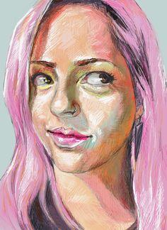 Portrait Painting: KrisFaith Humphrey Hill http://www.dartily.com/blog/2018/6/27/portrait-painting-kris