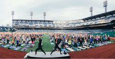 PNC Park Yoga Pittsburgh