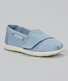 Loving this Jean Blue Slip-On Shoe on #zulily! #zulilyfinds