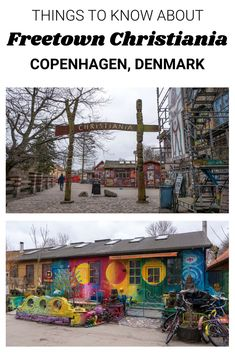 Things to Know About Freetown Christiania Copenhagen | Christiania, Copenhagen, Denmark | Hippie Commune | Anarcist Community | #Christiania #Offbeat #AlternativeTravel #Travel #Denmark #Copenhagen #StreetArt #Vegan