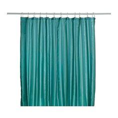 IKEA - SALTGRUND, Duschvorhang, , Doppelseitig gewebter Polyester für Duschvorhänge mit weichem Fall und dekorativem Muster auf beiden Seiten.Dichtes Polyestergewebe mit Wasser abweisender Oberschicht.