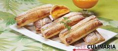 Receita de Folhados de doce de ovos com gila. Descubra como cozinhar Folhados de doce de ovos com gila de maneira prática e deliciosa com a Teleculinária!