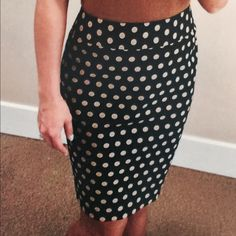 """LOFT Black & Khaki Stretch Pencil Skirt Classy must have. Flattering pencil skirt, 2"""" contour waistband, invisible center back zipper with kick pleat. Fully lined.   52"""" cotton 42"""" rayon 6"""" spandex  100% poly lining   Machine Washable  28"""" waist  36"""" hips  34"""" sweep LOFT Skirts Pencil"""