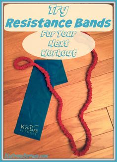Training with resistance bands is a great workout & here are a few exercises.