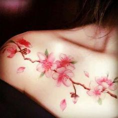 Buy Thornbird Waterproof Temporary Tattoo at YesStyle.com! Quality products at remarkable prices. FREE WORLDWIDE SHIPPING on orders over US$ 35. #tattooideas Pink Blossom, Blossom Flower, Tattoo Uk, Tatoo, Tattoo Women, Tattoos For Women, Ink Master, Temporary Tattoos, Body Art Tattoos