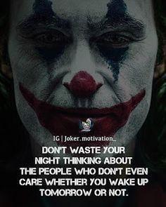 Joker Love Quotes, Crazy Quotes, Badass Quotes, Good Life Quotes, Wise Quotes, Mood Quotes, Positive Attitude Quotes, Qoutes, Joker Quotes Wallpaper