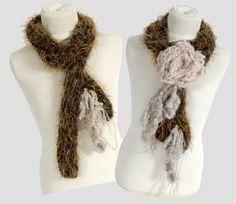 Angèle adore détourner les produits DMC. Aujourd'hui elle nous invite à tricoter, crocheter et broder avec la laine DMC New Romance pour créer cette écharpe 2 en 1