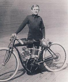 c1912 Eddie Hasha at the motordrome