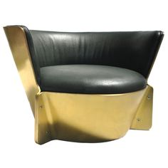Solid Brass Patina Raceme Chair by Kelly Wearstler on 1stdibs.com