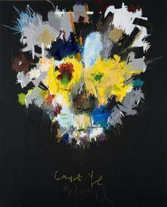 "Saatchi Online Artist: Woo, Kukwon; Oil, Painting ""Wisdom"""
