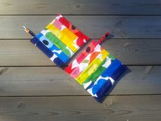 Modern pot holders made from Marimekko fabric by NordicCrafter