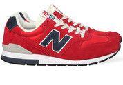 Rode New Balance schoenen 996 sneakers