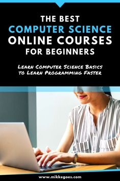 Start learning computer science and programming with these awesome online coding courses for beginners! Learn how computers work, what binary code is, and how to become a better developer by writing more efficient code. Understanding computer science will Learn Computer Science, Computer Coding, Computer Basics, Best Computer, Learn Programming, Computer Programming, Computer Technology, Energy Technology, Technology Gadgets