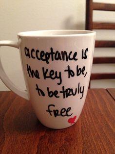 Katy Perry - Unconditionally lyric mug