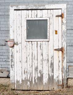 Rusted Flaky Door In Nova Scotia