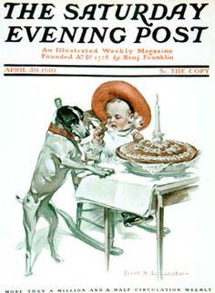 Sat Eve Post Cover ILL.  Apr 30 1910  FX Leyendecker