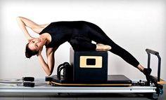 #pilates #reformer Powerful, yet graceful movement♥