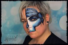 Pirate Airbrush, Pirate Makeup, Face Painting Designs, Body Art, Halloween Face Makeup, Skull, Make Up, Monsters, Artist