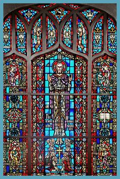 i love Gothic architecture and style... so why not add some Gothic stained glass windows to my Dream house