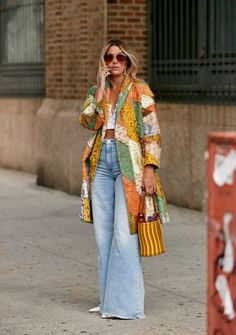 The Best Street Style Looks From New York Fashion Week Spring 2020 - Fashionista 2020 Fashion Trends, Fashion 2020, Look Fashion, New Fashion, Autumn Fashion, Fashion Outfits, Womens Fashion, Feminine Fashion, Abaya Fashion