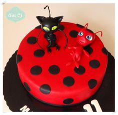 Birthday Cake - Miraculous Ladybug - Cake by Arte Cj