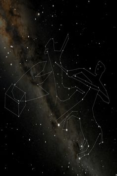 The Ancient Constellations are the largest work of art ever created! These new dot to dot drawings connect stars that are visible to the naked eye. The Centaur represents a Horse / Bull man in astrology. Lupus is a Wolf / Beast and Ara is a Fire Altar Sagittarius And Capricorn, Gemini And Cancer, Cygnus Constellation, Dotted Drawings, Ursa Minor, Pagan Gods, Pagan Art, Zodiac Star Signs, Connect The Dots