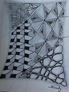 #zentangle #zentangles #tangles #zenart