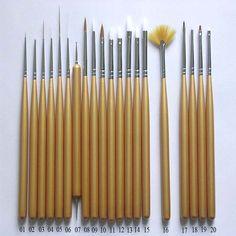 Top Nail art Brushes  Nail Design Art 2015