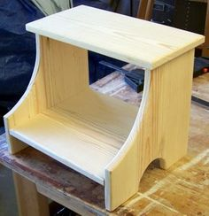 small wood stool plans
