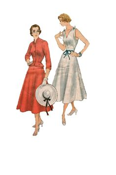Simplicity 8238 Sewing Pattern 1940s Party by AdeleBeeAnnPatterns, $30.00
