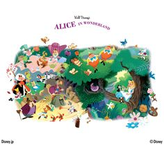 Alice in WONDERLAND Walt Disney